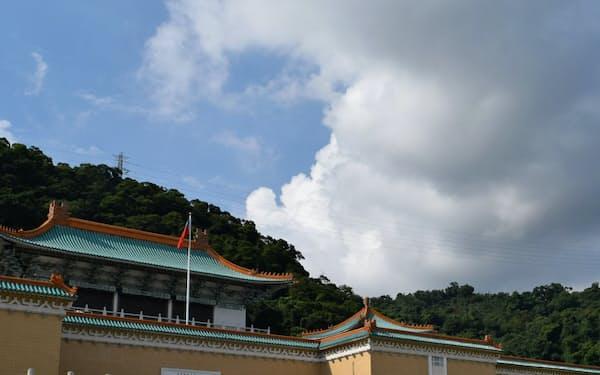 故宮博物院でも中国客が減っている(台北市)