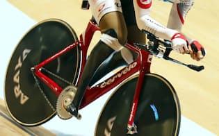 昨年のロード世界選手権のロードレース覇者の藤田はトラックとの二兎を追う