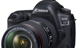 キヤノンのデジタル一眼レフカメラ「イオス5DマークIV」