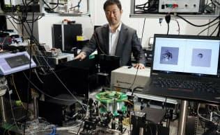 合田教授はセレンディピターの開発リーダーを務めている