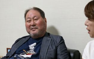 3度の抗がん剤治療のすえ、今年3月からオプジーボを使い始めた橋本さん(栃木県真岡市)