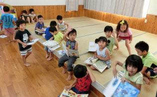 鹿児島県伊仙町は「子は宝」の文化が定着している(わかば保育園)