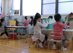 都は17年度予算案に待機児童対策として1381億円を盛り込んだ(都内保育所)