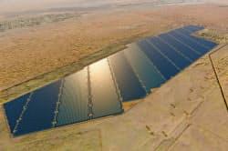 「スワイハン太陽光発電事業」の完成予想図