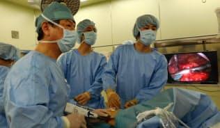 姫路医療センターで行われている肺がんの完全鏡視下手術(兵庫県姫路市)