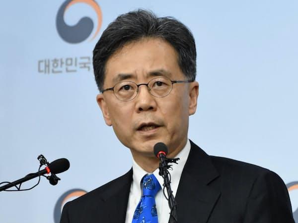 韓国の金鉉宗氏は米国との見解の違いを認めた