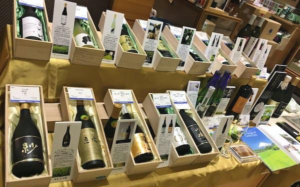ベネフィッティーは9月、日本橋三越本館で高級ボトリングティーの試飲販売会を開催した