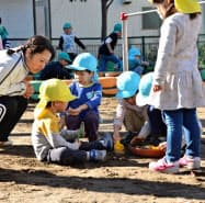 今後は1~2歳児保育の拡充も課題になる(相模原市内の保育施設)