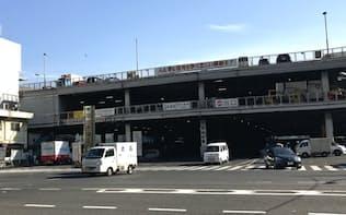 築地再開発の具体像は見えてこない(東京都中央区)