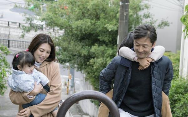 三島有紀子監督「幼な子われらに生まれ」(C)2016「幼な子われらに生まれ」製作委員会