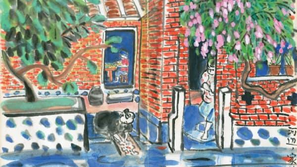 台湾美術 邦人画家の献身
