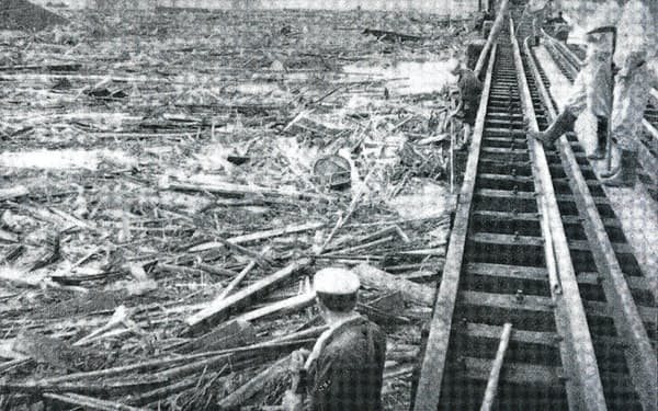 狩野川台風は甚大な傷痕を残した