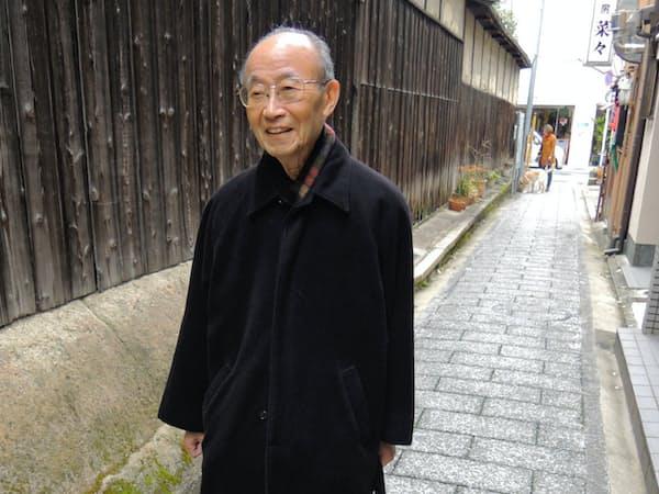 京都の自宅近くの路地を散策