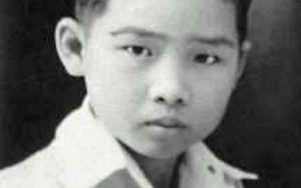 マランで中国系の小学校に通っていた(1937年)