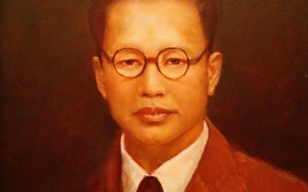 父は日本軍に拘束された(父の肖像画)
