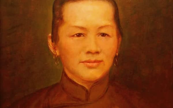 祖母はいつも筆者のそばにいて守ってくれた(祖母の肖像画)