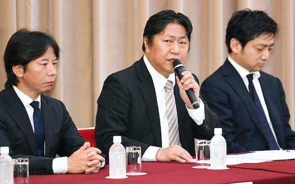急きょ3トップ体制で発足した日本仮想通貨交換業協会(4月23日)