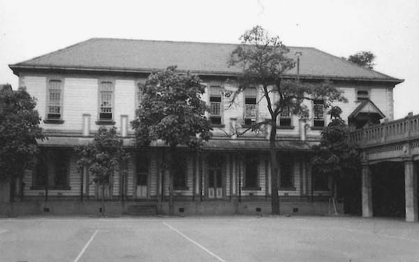 当時のお御堂(聖堂)(C)暁星学園