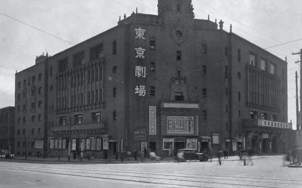 初舞台からしばらく通った東京劇場(C)松竹