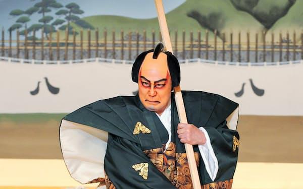 「熊谷陣屋」の熊谷(C)松竹