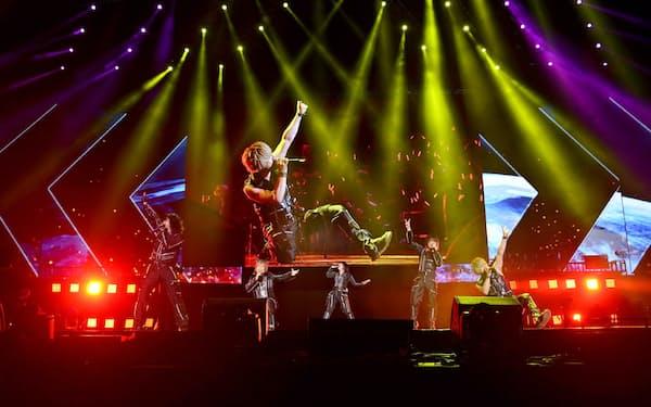 7月、中国で開催したライブ「アニソンワールド祭」でもJAMプロジェクトが登場(中国・上海)