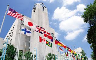 1986年に東京国際大学に校名変更し、大学院商学研究科が設置された