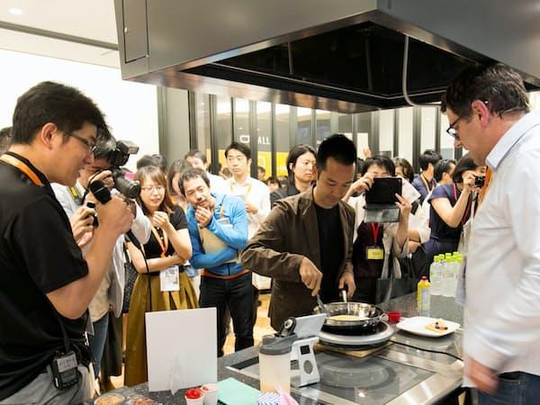 シグマクシスの「スマートキッチン・サミット・ジャパン2018」は多くの来場者でにぎわった