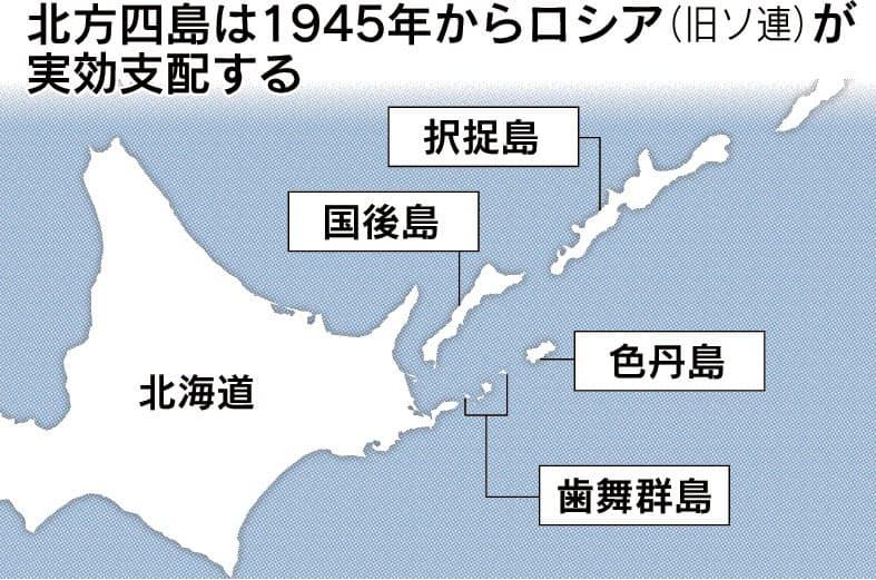 日ロ平和条約とは 北方領土問題が障害: 日本経済新聞