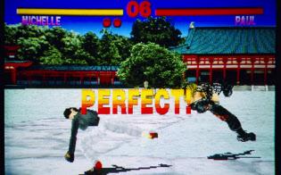 他社の格闘ゲーム以上のものを作ろうと開発した「鉄拳」の画面(C)BANDAI NAMCO Entertainment Inc.