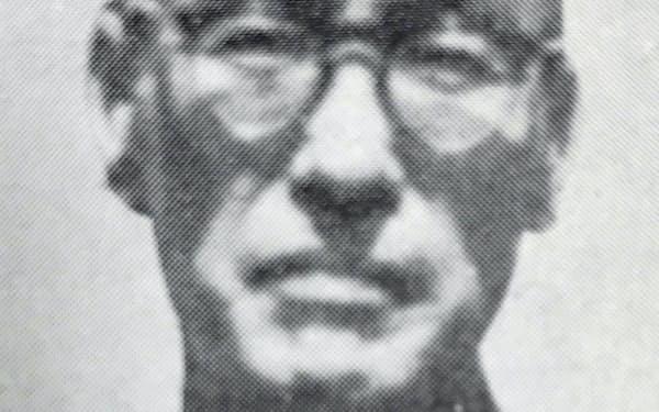 濱田清夫牧師(「日本聖公会奈良基督教会八十年史」1966年刊より)