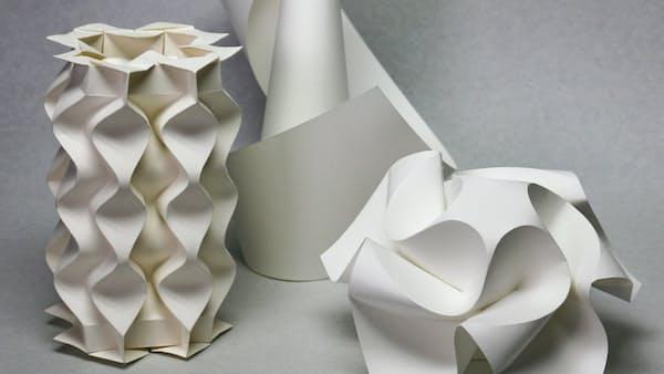 折り紙の曲線 数学で導く