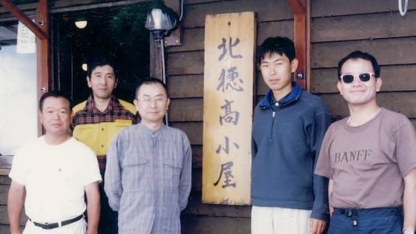 多川俊映(23)夏山登山