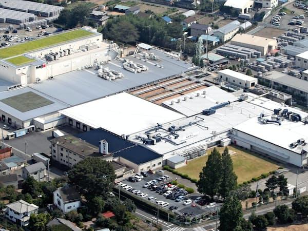 社運をかけた第三工場建設には41億円を投じた(前橋市)