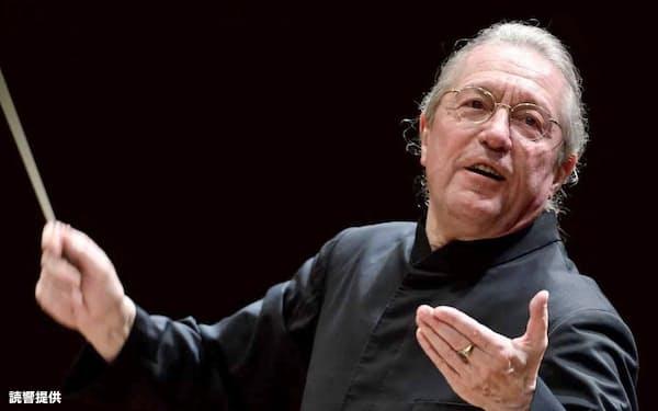 3月、読響常任指揮者として最後の公演に出演するカンブルラン=読響提供