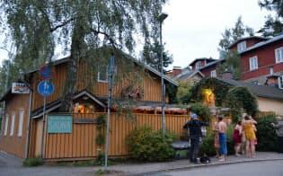 1906年創業、現存する最古の公衆サウナ。愛好家の協会が運営する(タンペレ)
