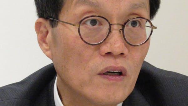 デジタル経済、アジアが創出者に 李昌●(かねへんに庸)氏