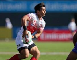 東京五輪でのメダル獲得を目標にチームを引っ張る=日本ラグビー協会提供