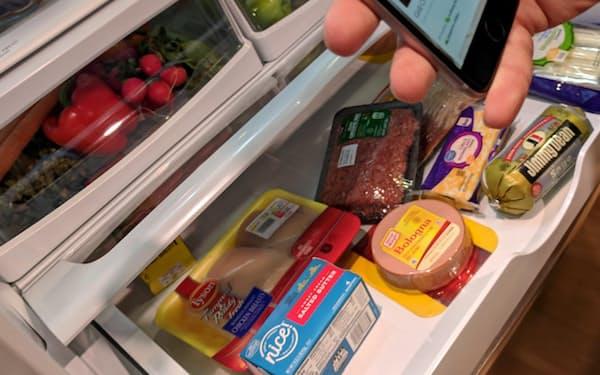ワールプールは冷蔵庫内の食材をスキャンすればレシピを表示するアプリを開発