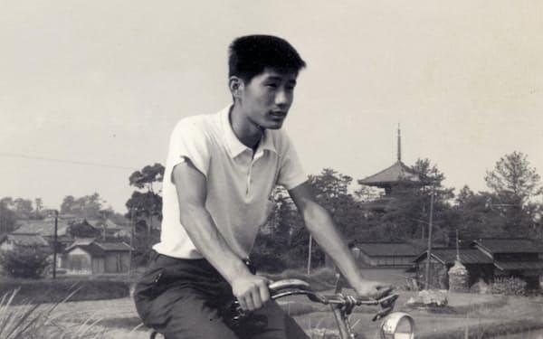 学生時代、自転車で大和路などを巡った