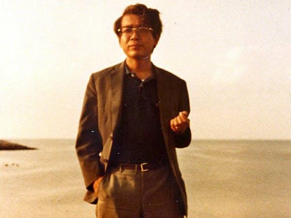 ハーバード大での研修時代に訪ねてきてくれた高坂正堯教授