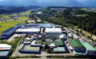 ひかり味噌の生産拠点である飯島グリーン工場(長野県上伊那郡飯島町)