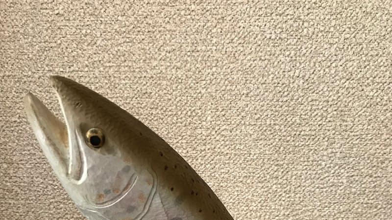 川魚の木彫に恋して