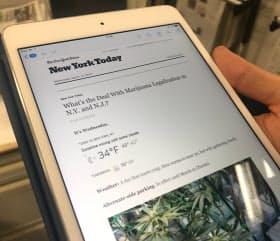 ニューヨーク・タイムズなど欧米メディアはニュースレターの配信に力を入れている