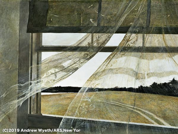 (C)2019 Andrew Wyeth/ARS,New York/JASPAR,Tokyo G1717 Album/PPS通信社提供