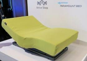 パラマウントベッドの製品は睡眠状態により自動で形を変える