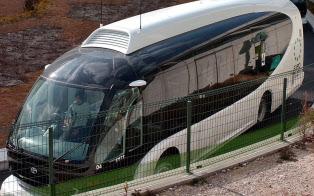 愛知万博では自動運転バス「IMTS」を走らせた