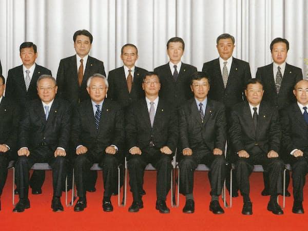 2009年はトヨタ輸送にとっても正念場の1年となった(当時の役員たち)