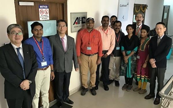 アイシン・コスモス研究所のインド・ハイデラバード拠点の訪問でアイシングループの全拠点訪問を達成した