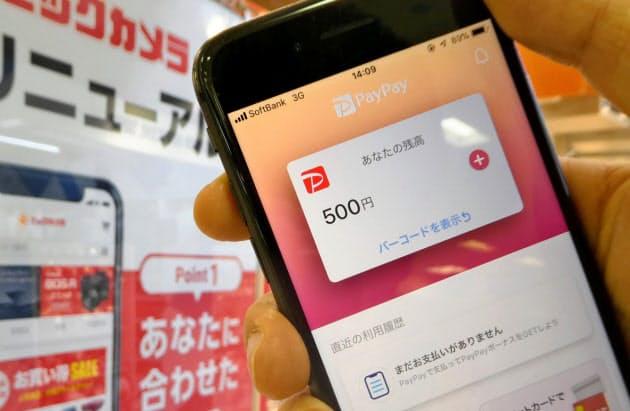 寄稿・日経MJ・スマホ決済、還元で利用者拡大 7カ月で約3倍に