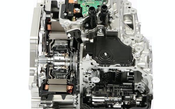 アイシンの「1モーターハイブリッドトランスミッション」はATの既存の生産設備が活用できる